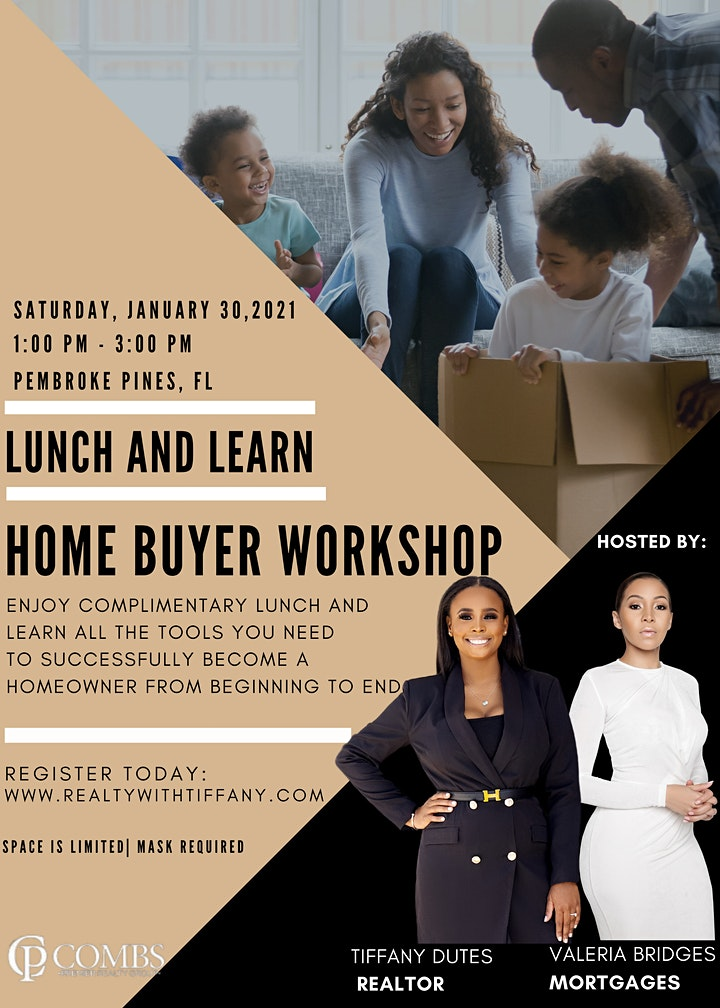 Lunch and Learn: Home Buyer Workshop image