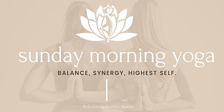 Virtual Sunday Morning Yoga and Meditation tickets