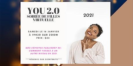 Soirée de filles virtuelle You 2.0 - Nouveau départ, nouvelle année billets