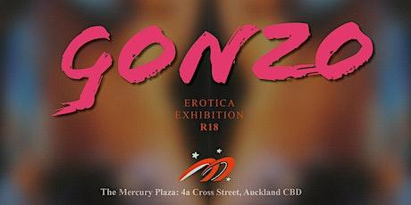 Gonzo Erotica Exhibition tickets