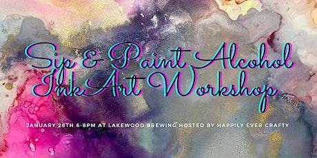 Craft Night Sip & Paint tickets