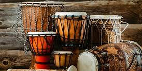 World Beat Rhythms Online - January 4 Week Course - Live on ZOOM tickets
