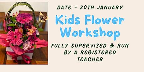Kids Flower Worshop tickets