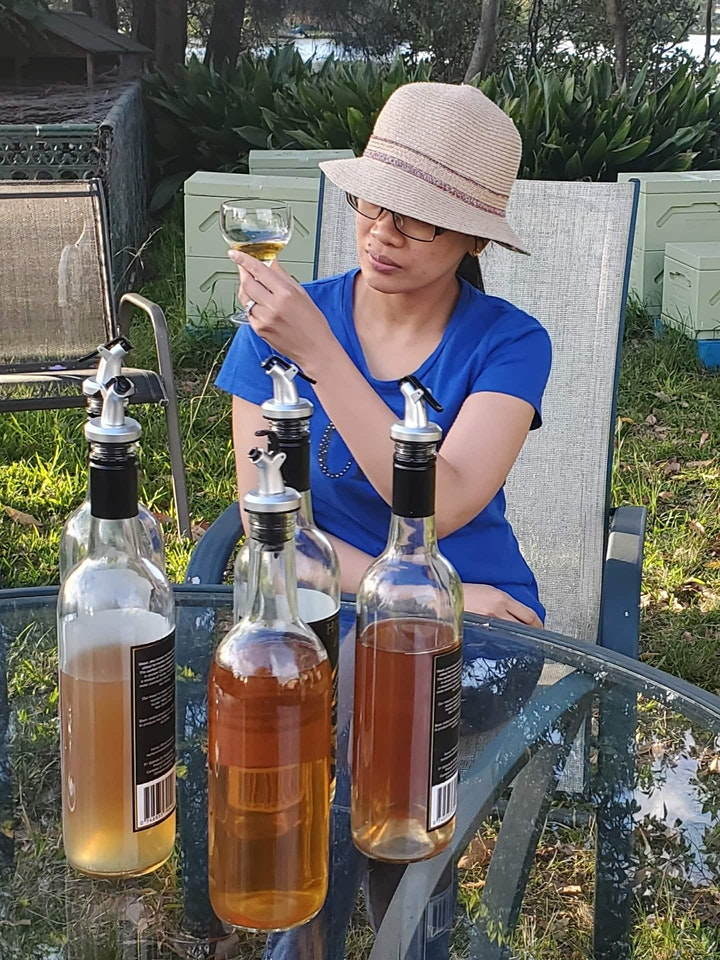 Mead Honey Wine Tasting image