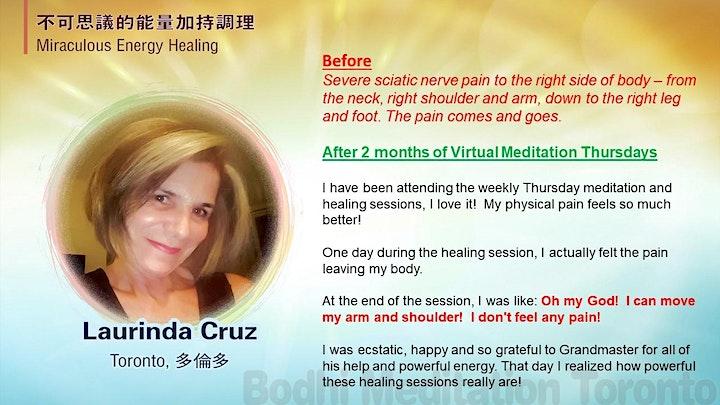 Calm Mind, Happy Life Virtual Meditation Thursdays!  A Community Practice image