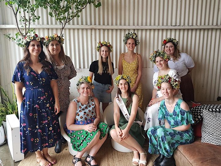 Flower Crown Making Workshop image