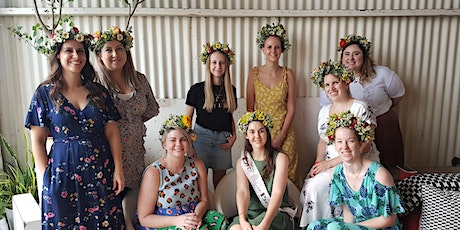 Flower Crown Making Workshop tickets