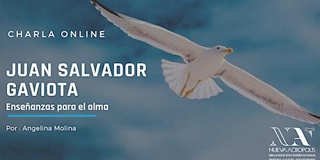 Charla Online: Juan Salvador Gaviota. Enseñanzas para el alma entradas