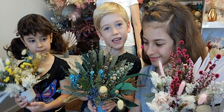 6+ Kids school holiday Fun  -Mini flower arrangeme tickets