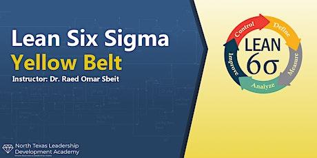 Virtual Weekend Offering NTXLDA -  Lean Six Sigma Yellow Belt Certification tickets