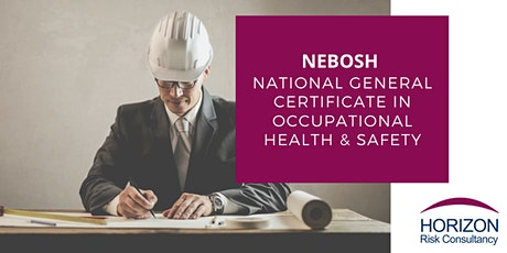 NEBOSH National General Certificate Live Online Course 20% Off tickets