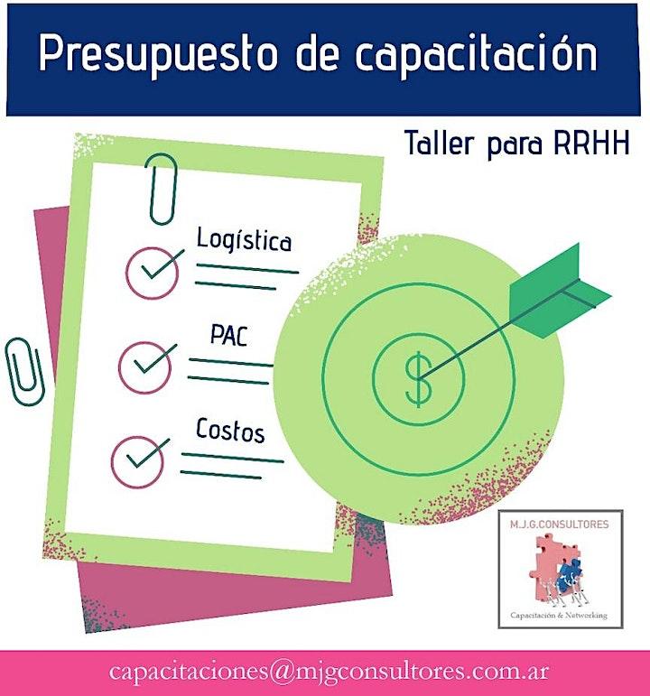 Imagen de Gestión del presupuesto en capacitación