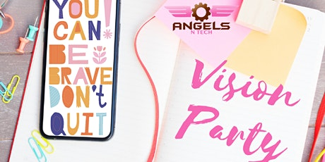 AngelsNTech presents a STEAM Vision Board Party tickets
