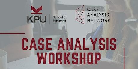 Case Analysis Workshop tickets