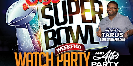 """Groove And Giggles"" Superbowl Weekend Watch Party tickets"