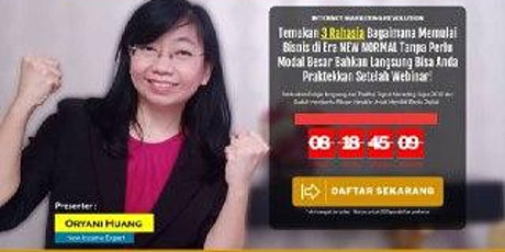 "Webinar GRATIS Kaya dari Affiliate Marketing ""BOOST"" tickets"
