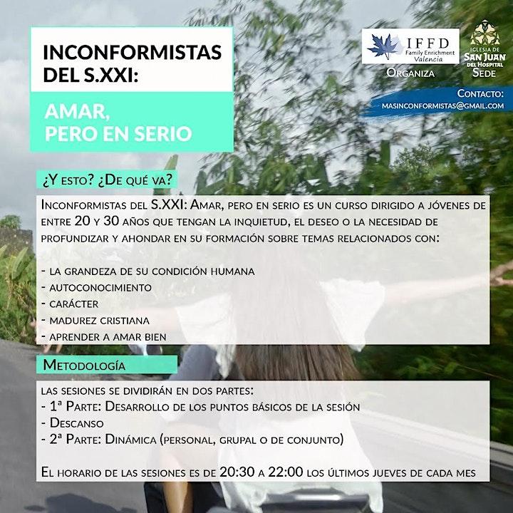 Imagen de INCONFORMISTAS S.XXI: AMAR PERO EN SERIO