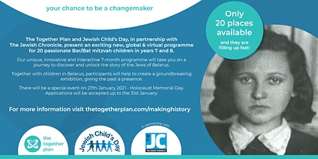 International Holocaust Memorial Day and launch of Making History Together tickets