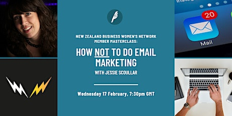 Member Masterclass: How Not To Do Email Marketing tickets