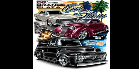 26th Annual Orange Plaza Car Show tickets