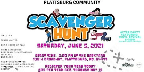 Community Scavenger Hunt tickets