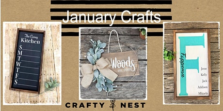 January 29th Public Workshop at The Crafty Nest  - Whitinsville tickets