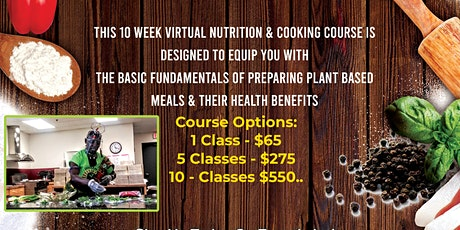 Queen's Abenu Montly Virtual Nutrition & Cooking Course tickets