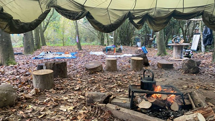 FrangloNature - Les Forestiers - French Forest School (booking per session) image