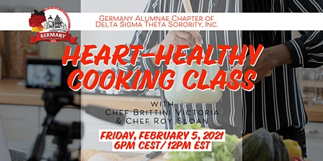 Cooking with the Heart in Mind tickets