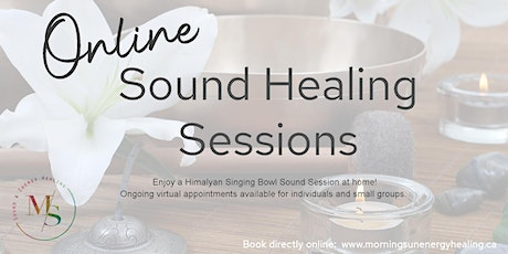 Virtual Singing Bowl Sound Healing Therapy Session tickets