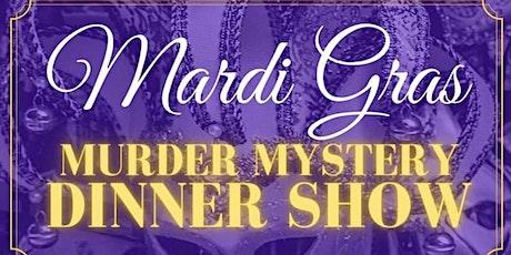 """""""Murder Gras"""" Mardi Gras Murder Mystery Dinner, Brandon Styles Theater OWA tickets"""