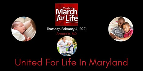 2021 Maryland March for Life tickets