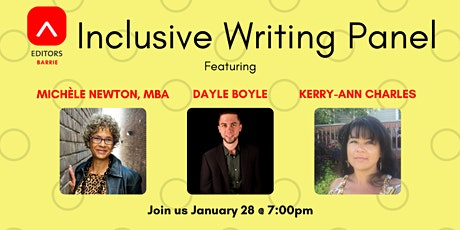 Inclusive Writing Speaker Panel tickets
