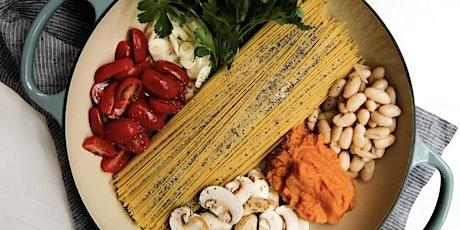 Pantry Pasta Sauce and Homemade Ricotta Cavatelli tickets