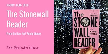 LGBTQ+ Virtual Book Club | Stonewall Reader tickets