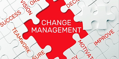 4 Weekends Only Change Management Training course in Sudbury tickets