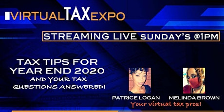 Virtual Tax Expo - Your tax questions answered! tickets