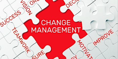 4 Weekends Only Change Management Training course in Huntingdon tickets