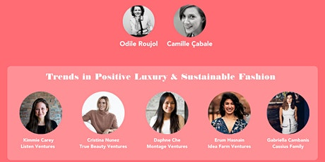 The VCs panel. Focusing on Fashion and BeautyTech new business models tickets