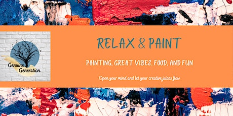 Relax & Paint tickets