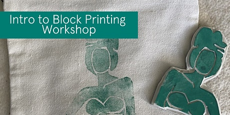 Intro to Block Printing tickets