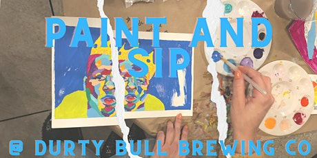 Rappers Paint & Sip w/ Sarah Paints Rappers @ Durty Bull Brewing Co tickets