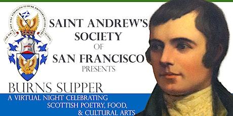 Saint Andrews Virtual Burns Night Supper 2021 tickets