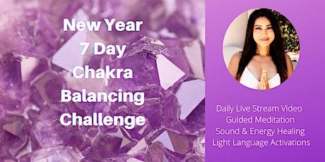 7 Day Chakra Balancing Challenge! tickets