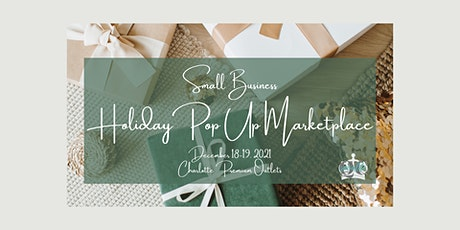 Small Business Holiday Pop Up Marketplace tickets