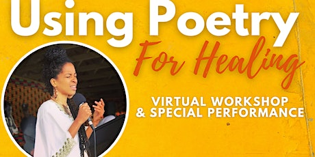 Using Poetry For Healing  with Rhonda Sekhmet Ra tickets
