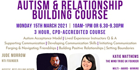 Autism & Relationship Building Course (CPD Accredited) tickets