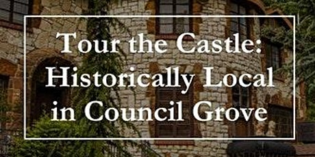 Castle Falls/Council Grove Historically Local Tour Sat, May 15, 2021 tickets