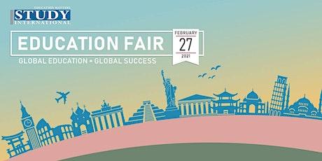 Pre-registration: STUDY INTERNATIONAL EDUCATION FAIR 2021 tickets