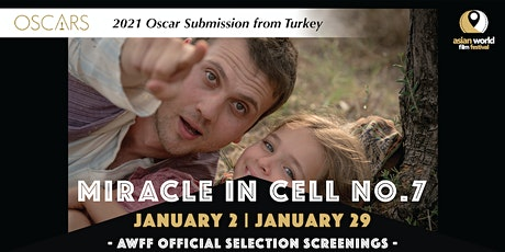 AWFF - Miracle in Cell No.7 (1/29) -2021 Oscar Submission from Turkey tickets